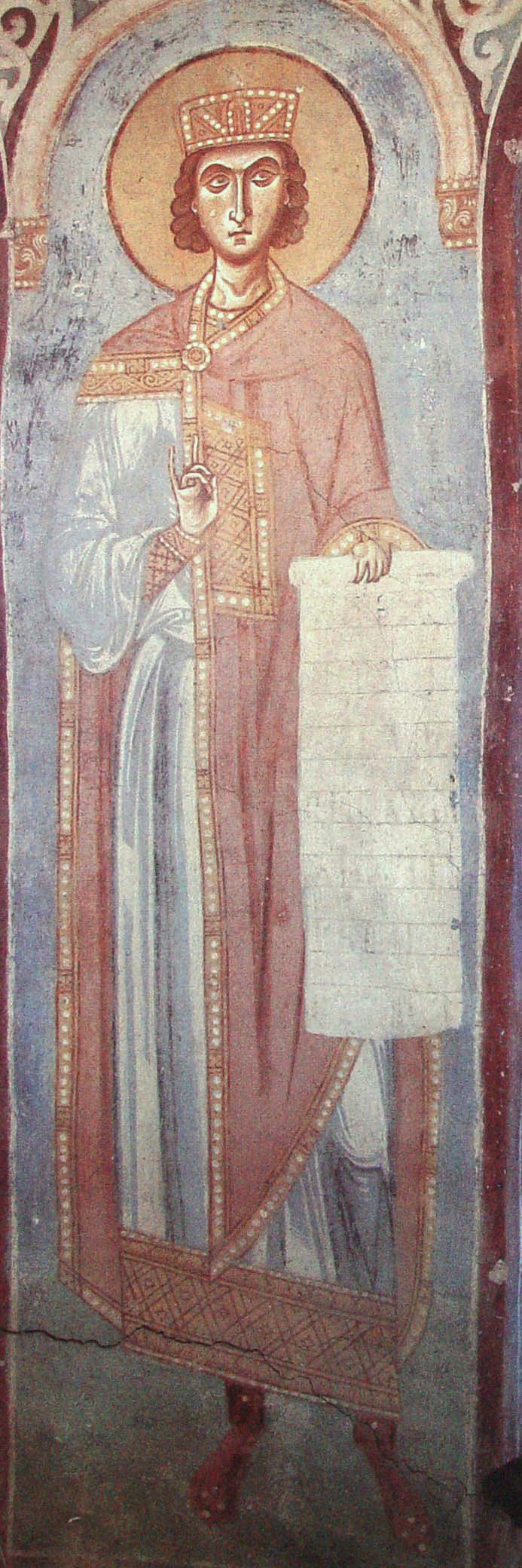 Царь Соломон  Россия. Старая Ладога. Георгиевская церковь  XII в ... 584396d6388