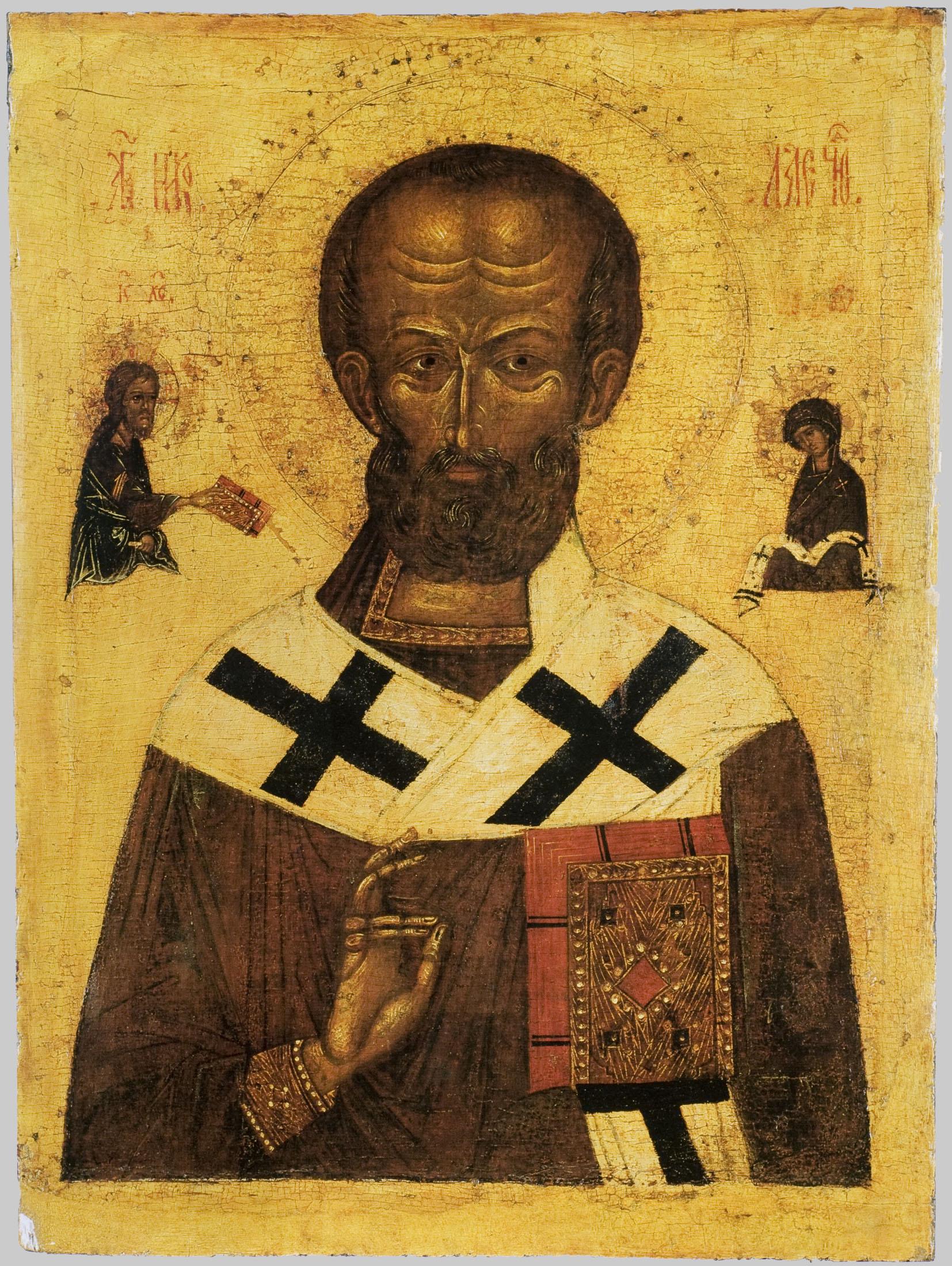 Иконы 14 века николай чудотворец